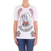 T-shirts med korta ärmar Love Moschino  W4F1555M3897
