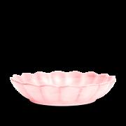 Ostronskål Stor Ljusrosa 31 cm