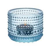 Kastehelmi ljuslykta 64 mm ljusblå
