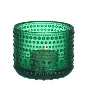 Kastehelmi ljuslykta 64 mm smaragdgrön