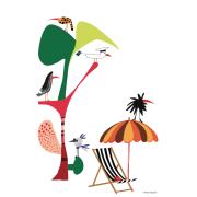 Svensk sommar affisch 50x70 cm