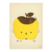 Äppel Päppel poster 50 x 70 cm