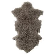 Bloomingville fårskinnsfäll grå 50 x 90 cm