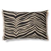 Zebra kudde 40x60 cm Svart