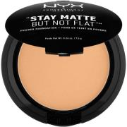 NYX PROFESSIONAL MAKEUP Stay Matte Not Flat Powder Foundation Soft Bei