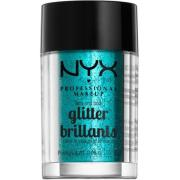 NYX PROFESSIONAL MAKEUP Face & Body Glitter - Teal