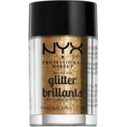 NYX PROFESSIONAL MAKEUP Face & Body Glitter - Bronze