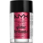NYX PROFESSIONAL MAKEUP Face & Body Glitter - Red