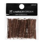 American Dream Wavy Grips Brown 6.5cm Brown 6,5cm