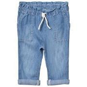 Gap Light Wash Drawstring Denim Jeans 12-18 mån