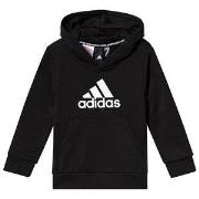 adidas Performance Logo Huvtröja Svart 4-5 years (110 cm)