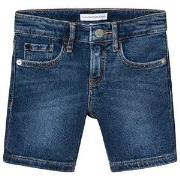 Calvin Klein Jeans Denim Shorts Blå 4 years