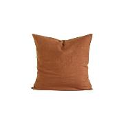 Linen Kuddfodral 65x65 cm, Amber