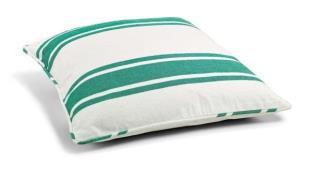 Day home Nordic Stripe Kuddfodral 100% Bomull 60x60cm Virdis/ Vit