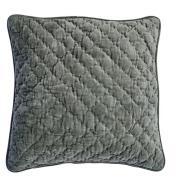 Day Home Velvet Quilted Kuddfodral Prydnadskudde Bomullsammet 40x60 cm