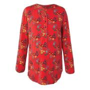 Frugi All Over Multi Floral Blus Röd S