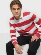 Polo Ralph Lauren Long Sleev Rugby Sweater Piké Red
