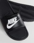 Nike – Benassi jdi – Svarta tofflor